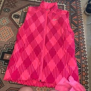 Women's Nike pink vest size L